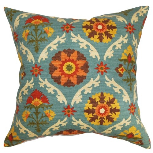 The Pillow Collection Kachine Floral Pillow
