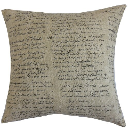 Garman Typography Pillow