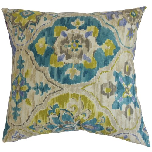 The Pillow Collection Vina Floral Pillow