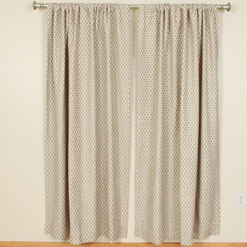 The Pillow Collection Chai Rod Pocket Curtain