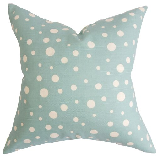 The Pillow Collection Bebe Polka Dots Pillow
