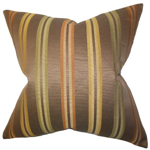 The Pillow Collection Dorsey Stripes Pillow