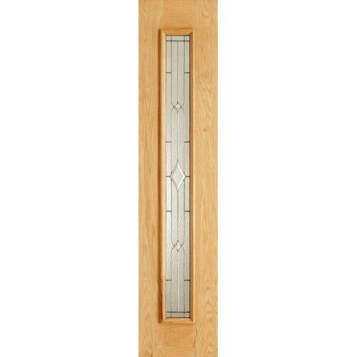 Copenhagen Oak 3 Panel Double Glazed Exterior Door Wayfair Uk