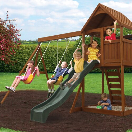 Hedstrom Neptune Swing Set & Reviews