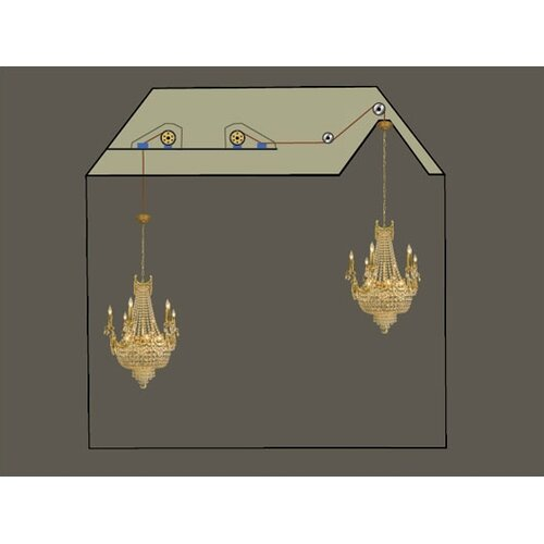 chandelier lift chandelier light lift 200 lbs. Black Bedroom Furniture Sets. Home Design Ideas