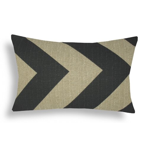 Domusworks Chevron Lumbar Pillow