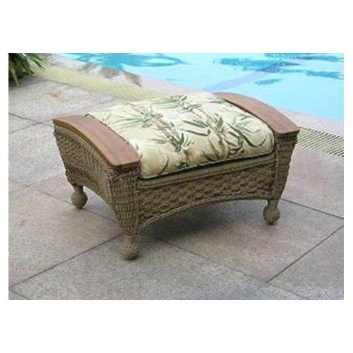 Barbados Ottoman with Cushion