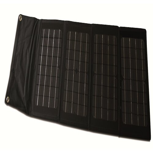 40-Watt Folding Monocrystalline Solar Panel Charger