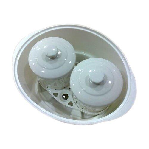 Hannex 2.3-Quart Electric Multi-Stew Cooker/Steamer Pot
