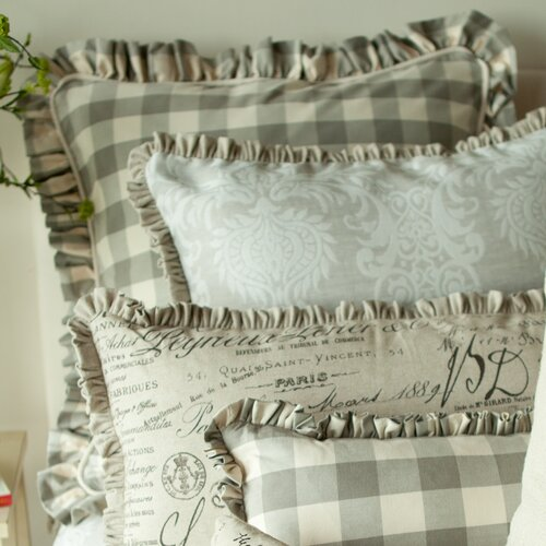 Provence Home Collection Auron Large Ruffle Euro Sham