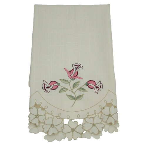 Xia Home Fashions Rose Garden Tea Towel