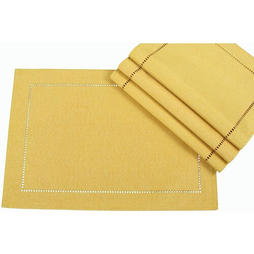 Xia Home Fashions Melrose Cutwork Hemstitch Placemat