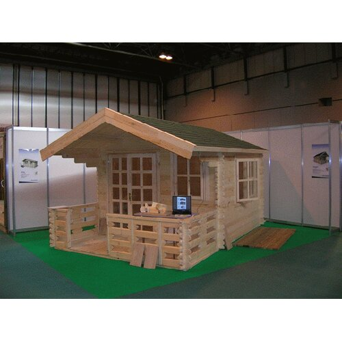 "SolidBuild Wales 9'9"" W x 9'9"" D Solid Wood Garden Shed"