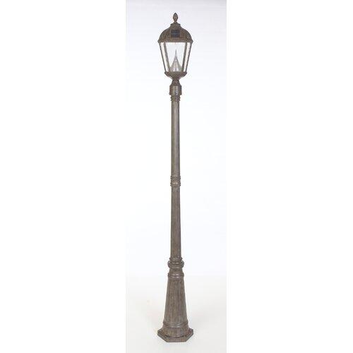 Gama Sonic Royal Solar Lamp Post and Seven-LED Lantern