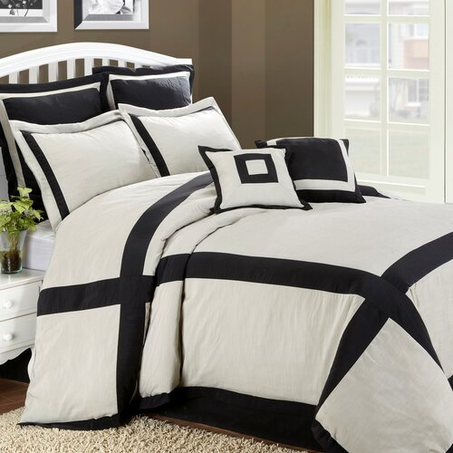 Hotel Intersection 8 Piece King Comforter Set