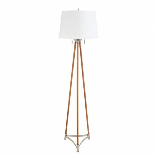 Aspire Alicia Contemporary Floor Lamp Amp Reviews Wayfair