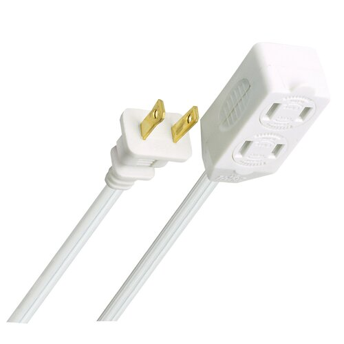 Globe Electric Company 3-Piece Outlet Extension Cords