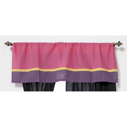 "One Grace Place Sassy Shaylee 50"" Curtain Valance"