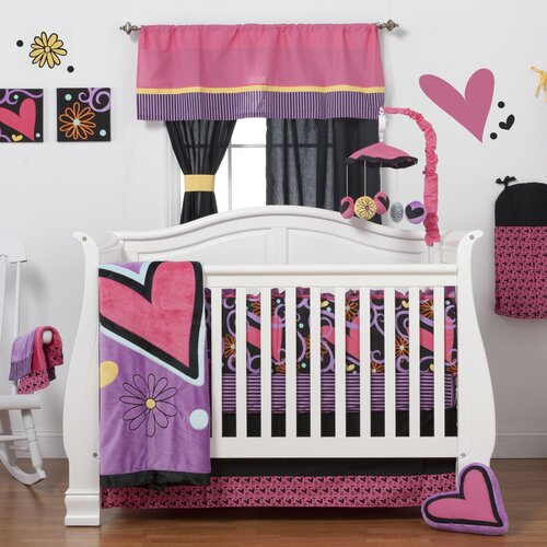 Sassy Shaylee 6 Piece Crib Bedding Set