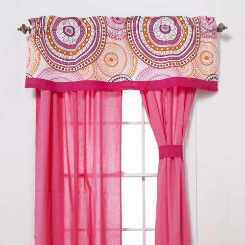 "One Grace Place Sophia Lolita 50"" Curtain Valance"
