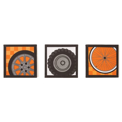One Grace Place Teyo's Tires Canvas Art