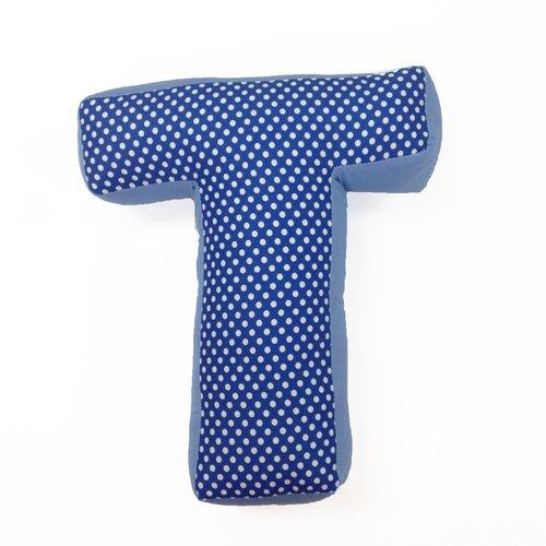 """One Grace Place Simplicity Letter Pillow """"T"""""""
