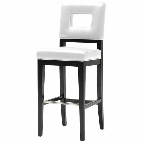 "Wholesale Interiors Meiji 30"" Bar Stool with Cushion"