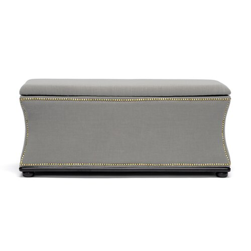 Wholesale Interiors Baxton Studio Liverpool Upholstered Storage Bench