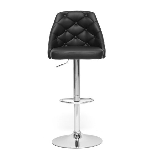 "Wholesale Interiors Baxton Studio Salzburg Modern 24.5"" Adjustable Swivel Bar Stool"