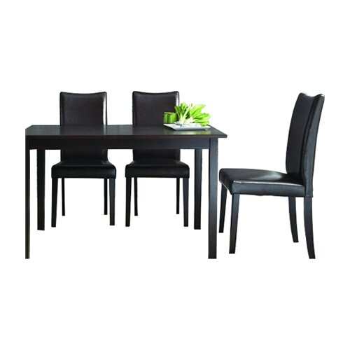 Wholesale Interiors Baxton Studio Sweden 5 Piece Dining Set