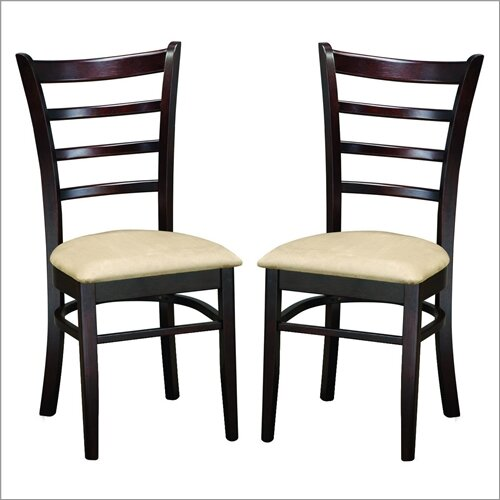 Baxton Studio Lily Side Chair (Set of 2)