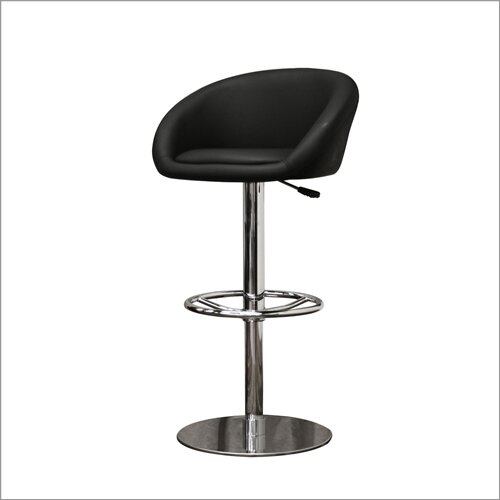 "Wholesale Interiors Baxton Studio Wynn 23.5"" Adjustable Swivel Bar Stool"