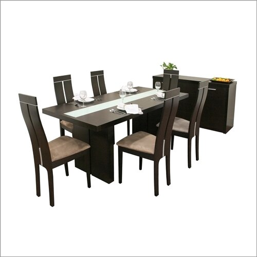 Wholesale Interiors Baxton Studio Magness 8 Piece Dining Set