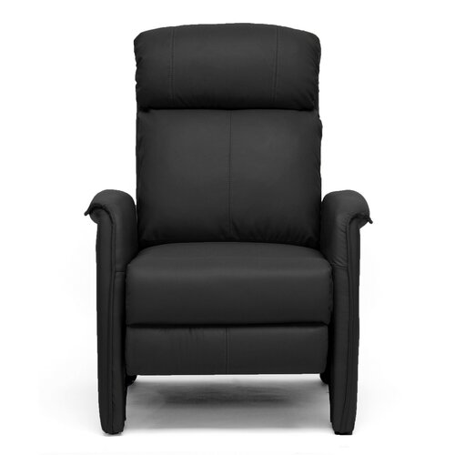 Wholesale interiors baxton studio aberfeld modern arm recliner