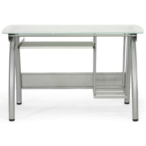 Wholesale Interiors Baxton Studio Tamm Modern Computer Desk with Keyboard Tray and CPU Stand