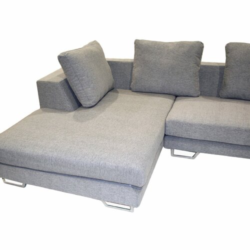 Wholesale Interiors Tybalt Twill Sectional