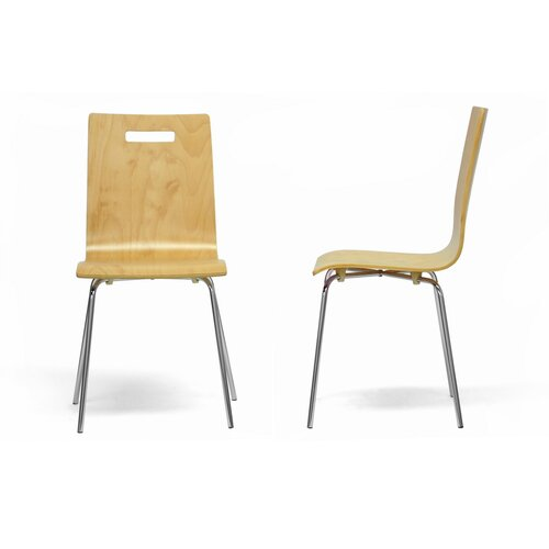 Baxton Studio Stockholm Side Chair (Set of 2)