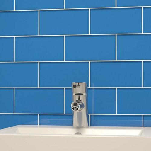 Giorbello Subway Tile in Mediterranean Blue