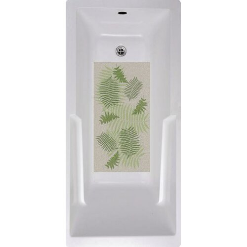 Fern Floral Bath Tub and Shower Mat