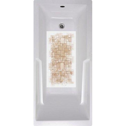 Stone Tiles Bath Tub and Shower Mat