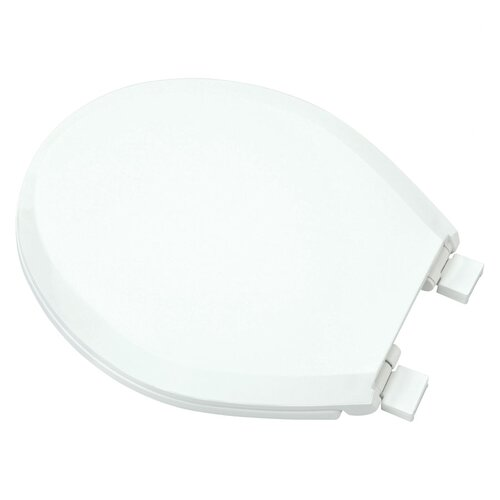 Plastic Slow-Close Round Toilet Seat