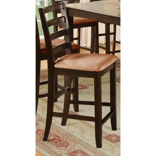 East West Furniture Fairwinds Bar Stool with Cushion