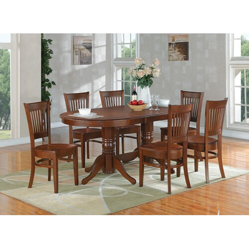 East West Furniture Vancouver Dining Table