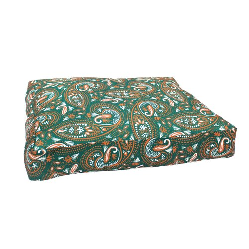 Mosaic Paisley Dog Bed