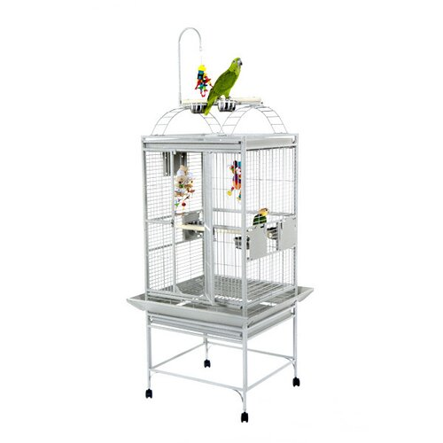 A&E Cage Co. Small Play Top Bird Cage with Toy Hook