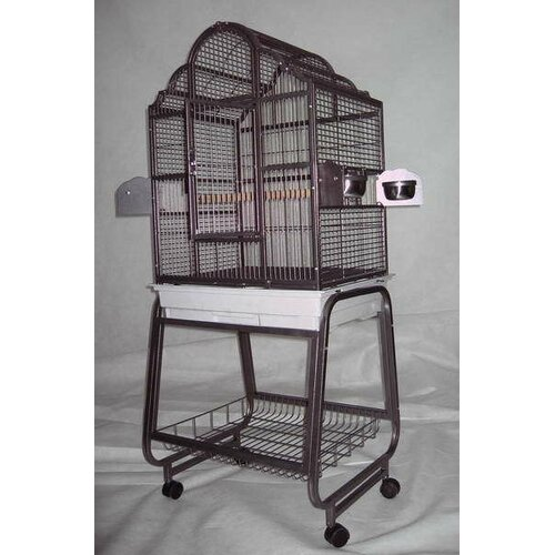 A&E Cage Co. Victorian Bird Cage with Plastic Base