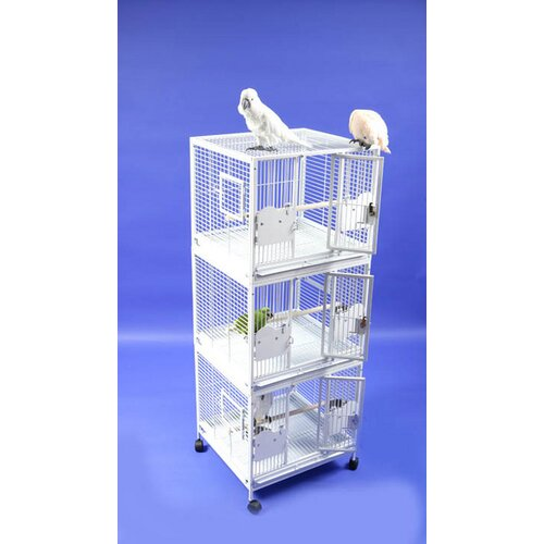 A&E Cage Co. Small Triple Bird Cage