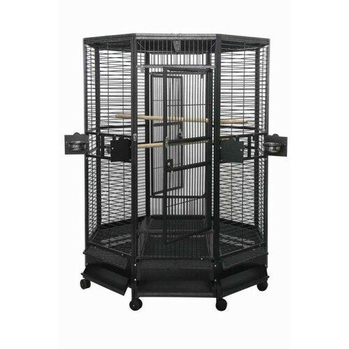 A&E Cage Co. Large Octagon Bird Cage