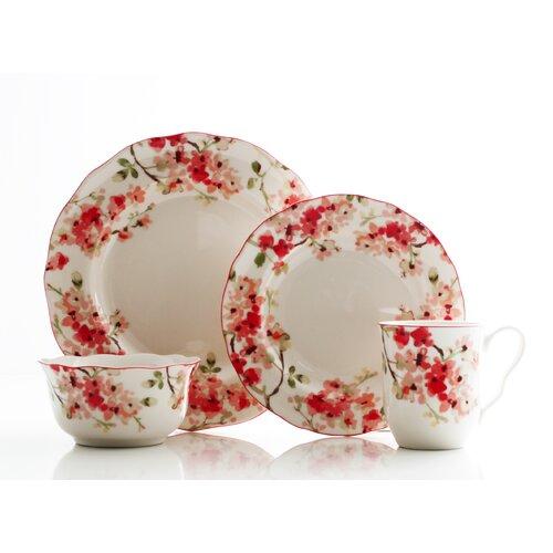 Cherry Blossom 16 Piece Dinnerware Set