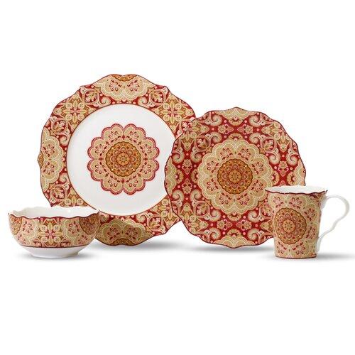 Lyria 16 Piece Dinnerware Set